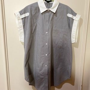 Alexander Wang button down collard shirt